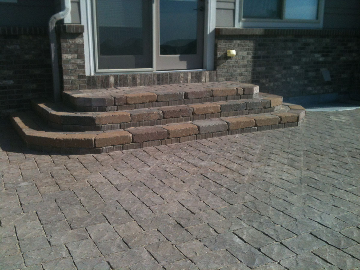 Colorado Paver Patio Landscaping