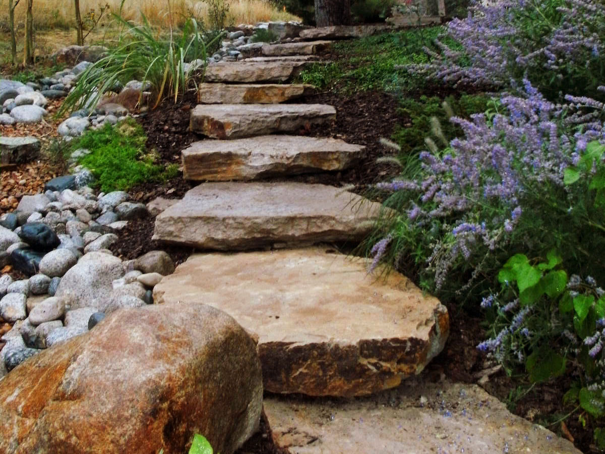 Rock Step Landscaping