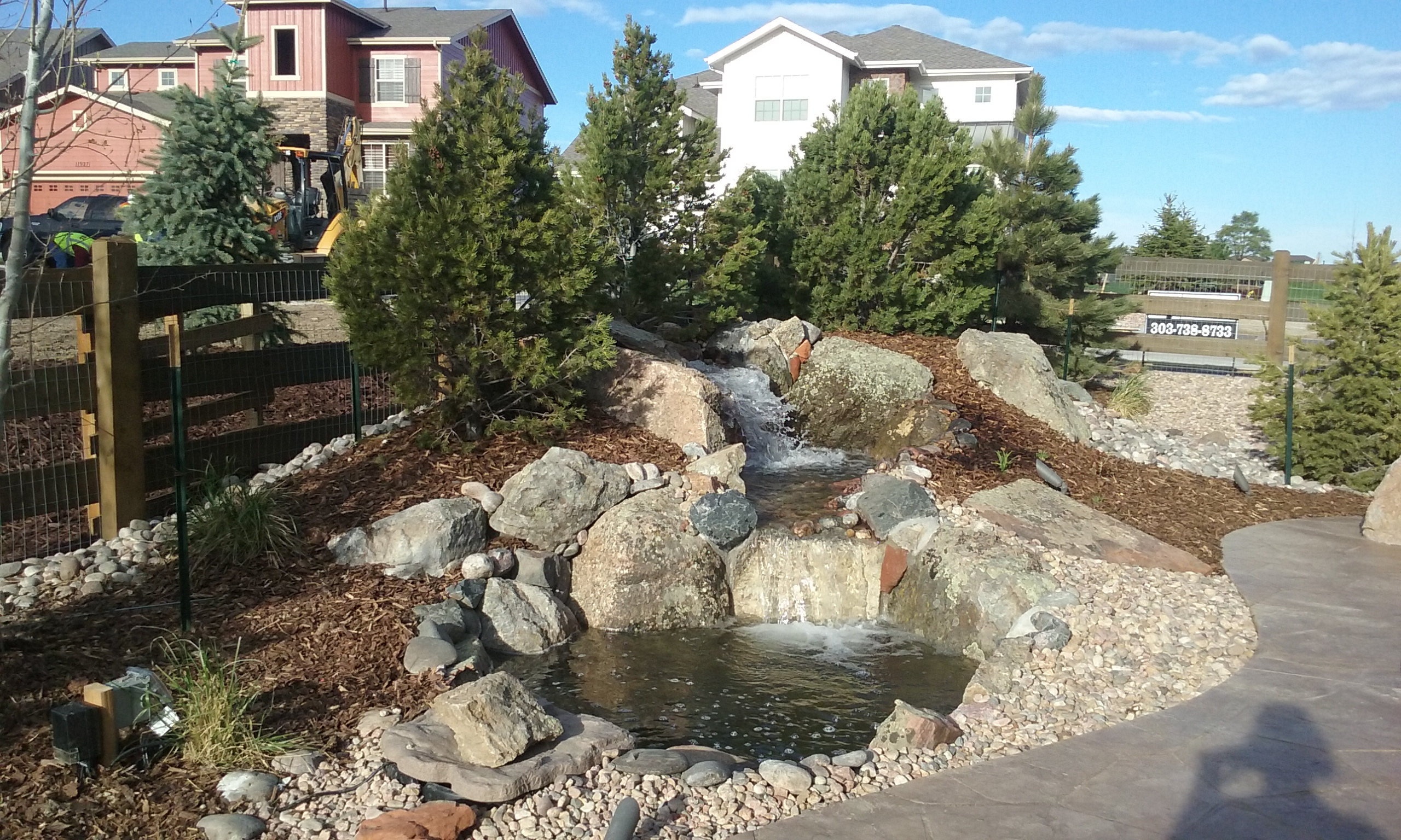 Parker Water Feature Landscaping