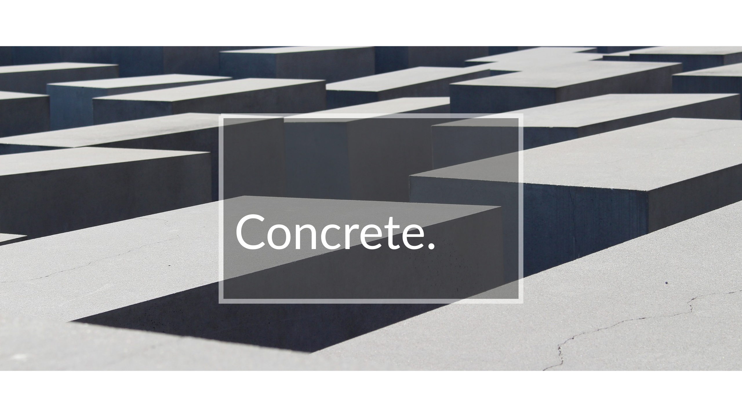 Concrete Landscaping Colorado