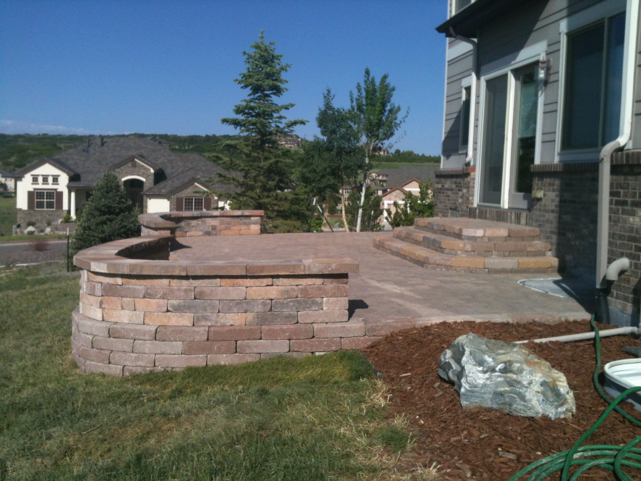 Concrete Patio Landscaping CO - Landscape Architects on Front Range Outdoor Living id=65574